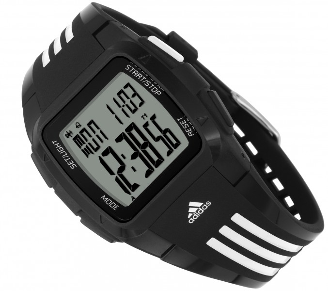 adidas adp6000 original digital chrono wristwatch uhr ebay. Black Bedroom Furniture Sets. Home Design Ideas