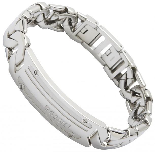 fossil schmuck armband jf87568 herrenarmband edelstahl gravur m glich ebay. Black Bedroom Furniture Sets. Home Design Ideas