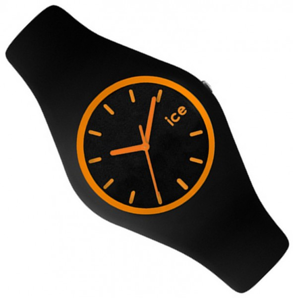 original ice watch uhr crazy orange schwarz unisex ice cy. Black Bedroom Furniture Sets. Home Design Ideas