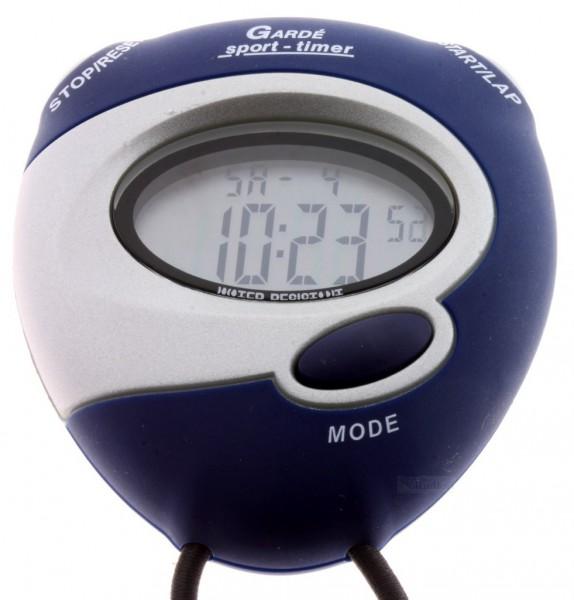 lcd stoppuhr sport uhr digital ruhla timer uhrzeit 8 lap alarm trageband blau ebay. Black Bedroom Furniture Sets. Home Design Ideas