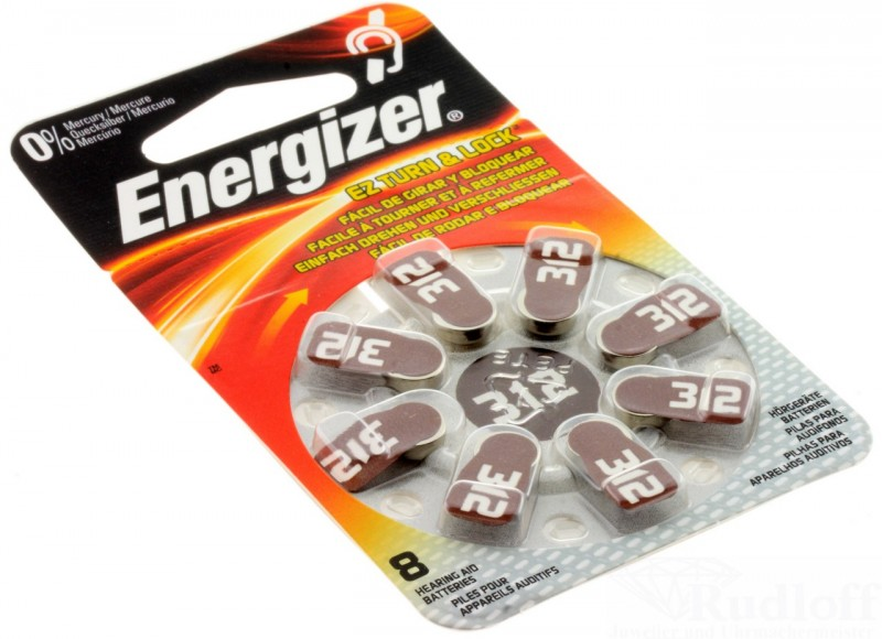 energizer h rger te batterie 8 st ck per pack az 312 zink luft zubeh r batterien h rger te. Black Bedroom Furniture Sets. Home Design Ideas